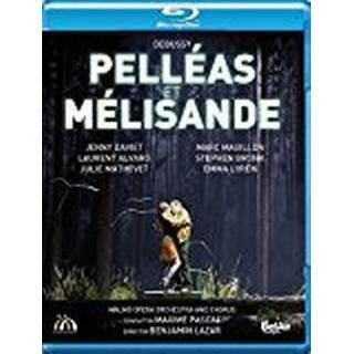 Debussy: Pelléas et Mélisande [Marc Mauillon; Jenny Daviet; Laurent Alvaro; Maxime Pascal] [Belair Classiques: BAC544] [Blu-ray]